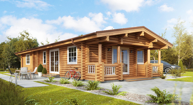 Living Log Home 3 bedrooms