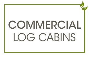 commercial log cabins text