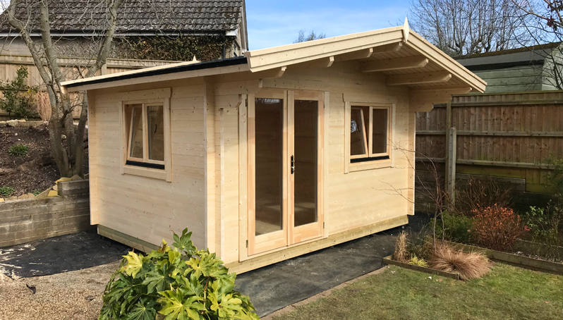 Deluxe Dorset 45 Log Cabin