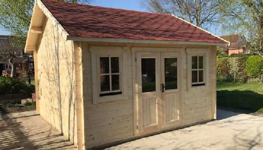 hideway log cabin