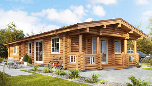 Living Log Home - 3 bedrooms