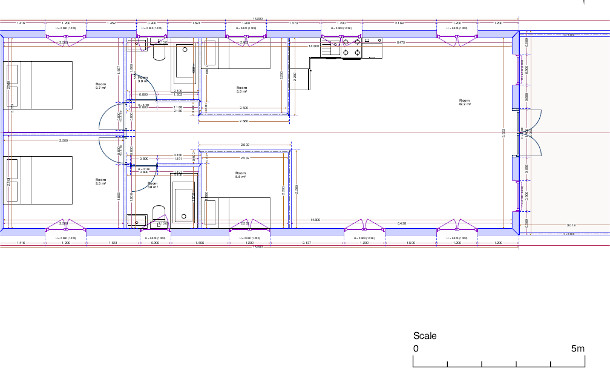 Static Home 4 bedrooms - dimensions