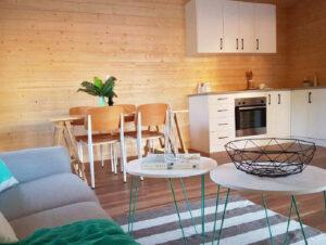 Bespoke cabin interior example
